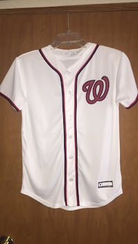 white and red baseball jersey Shenandoah Junction, 25442