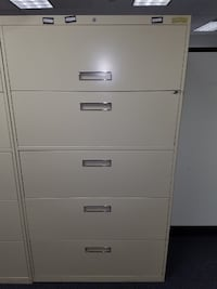 5 Drawer File Cabinet ROCKVILLE
