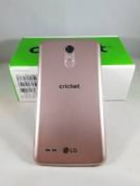silver Cricket smartphone with box