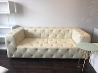 tufted white leather tufted sectional sofa Lanham, 20706