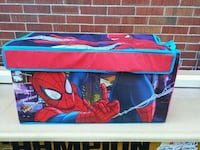 Spider man toddlers kids toy box  Cambridge