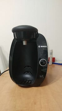 black bosch coffee maker