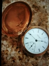 One Elgin Pocket Watch and one Regent Pocket Watch  Germantown