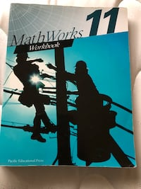 Math Works 11 workbook with all answers  Coquitlam