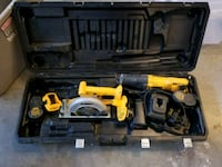 18Volts DEWALT Cordless power tool with case 20 mi