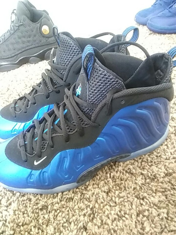 Used Foamposites Blue Size 7 In Big Kids For Sale In