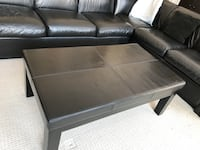 Real leather coffee table Toronto, M5N