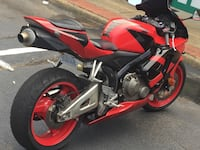 red and black sports bike North Chesterfield, 23235