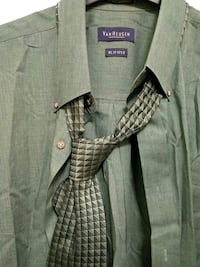 New dress shirt and tie