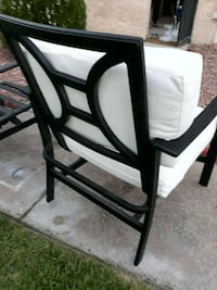 Set of 3 PATIO CHAIRS w/ Cushions Las Vegas, 89103