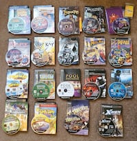 19 PlayStation 2 games complete with manuals