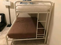 Metal bunk beds. White. Just bed Pompano Beach, 33062