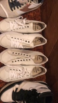 pair of white Converse All Star low-top sneakers Winnipeg, R2J 2S5