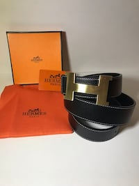 Black Hermès Belt  Nesconset, 11767