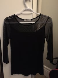 Black mesh top Ottawa, K2J 1N3