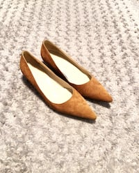Michael Kors suede heels paid $125 size 7.5 like new! Excellent condition! Pointed Toe Stacked Slim Kitten Heel Pumps Authentic