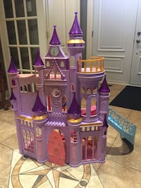 Ultimate princess dream castle doll house