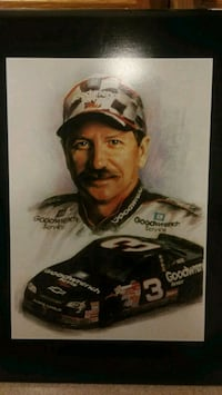 To Dale Earnhardt senior pictures both identical Nashua, 03062