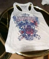 white and blue racer-back tank top New Iberia, 70563