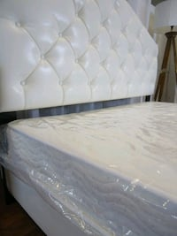 New queen leather bed frame Silver Spring, 20902