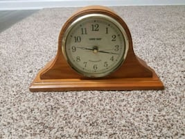 Clock table top with chime