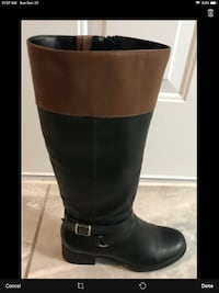Style & Co. Boots Size 8 - Like New W/leg expansion.