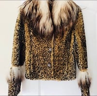 Women's brown and black fur coat size S Montreal, H2M