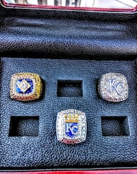 Royals championship rings with case Kansas City, 64106