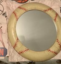 Awesome Metal Baseball mirror
