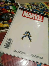 MARVEL THE END comic book