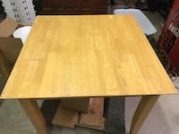 square beige wooden table Sweetwater, 37874