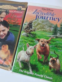 Fly Away Home and The Incredible Journey vhs tape