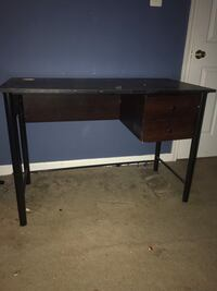 Brown wooden desk for sale. The price is negotiable. I also offer delivery . White Plains, 20695