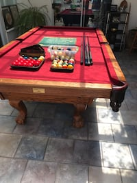 9ft National Pool Table FREE DELIVERY AND INSTALLATION  Langley, V3A 2Z7