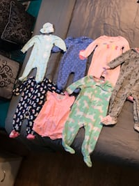 baby clothes from 3 months up to one year good conditions !!!!  One dollar piece. East Chicago, 46312