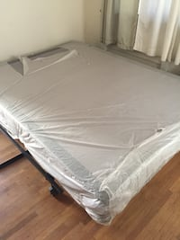 Brand New- boxspring and Frame