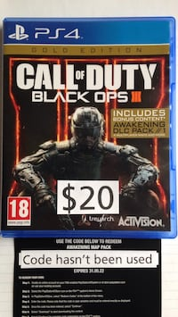 Call of Duty: Black Ops 3 III Gold Edition PS4 Washington, 20002