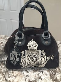 Black and white juicy couture leather tote bag Castro Valley, 94546