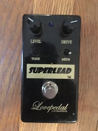 Superlead distortion pedal by lovepedal good condition shoot me an offer Morris Plains, 07950