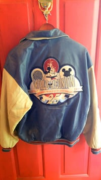 Vintage 1996 Disney world 25th leather jacket Centreville, 20120