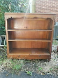Gently used vintage bookcase