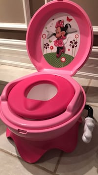 Minnie mouse 2in1 potty/stool Vaughan, L6A 1L2