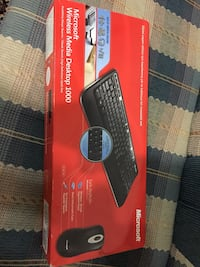 Microsoft Wireless Media Desktop 1000 - Keyboard - wireless - RF