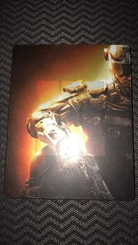 Metal limited edition call of duty black ops 3 tin case and game disc Summerville, 29486
