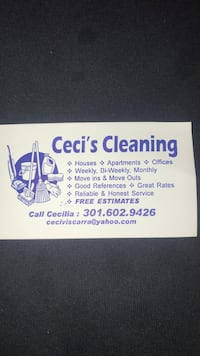 House cleaning Silver Spring