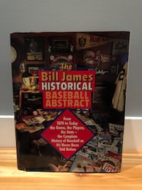 Rare Bill James Historical baseball abstract Nanaimo, V9T 2N6