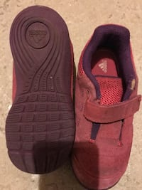 Adidas girs running shoes size 10. In a great condition only one tear as shown in the picture  London