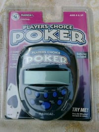 Players choice poker game