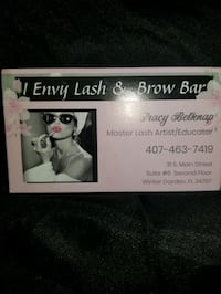 Eyelash extensions Winter Garden, 34787