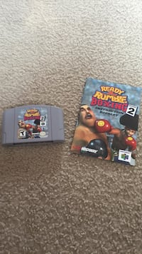 Ready 2 Rumble Boxing Round 2 (N64) (Cartridge and Instruction Booklet) Skokie, 60077
